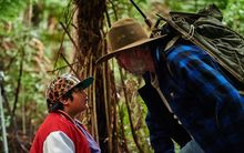 A scene from Hunt for the Wilderpeople