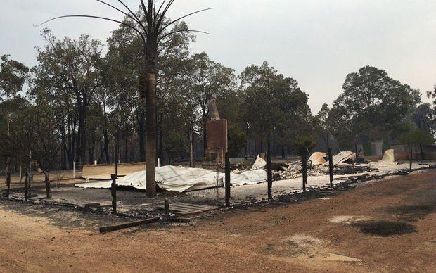 Damage from the latest bushfires to ravage Western Australia