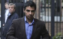 The convicted spot-fixer and Pakistan cricketer Salman Butt.