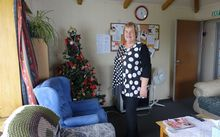 Catherine Williamson, director of the women's shelter, at the home in Christchurch.