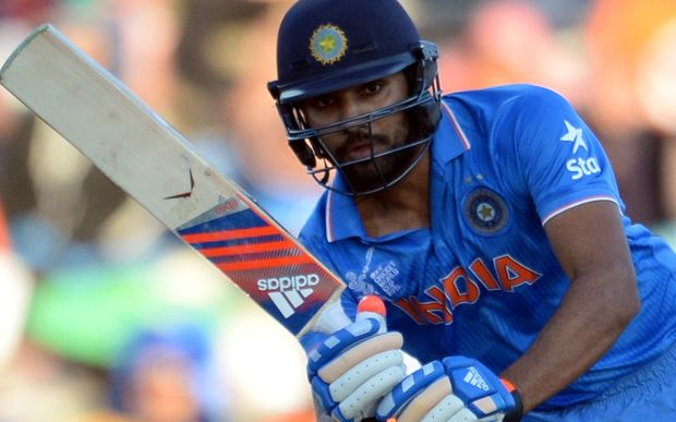 Rohit Sharma struck the highest score by a visiting batsman against Australia, surpassing Viv Richards's but it still wasn't enough to take his side to victory.