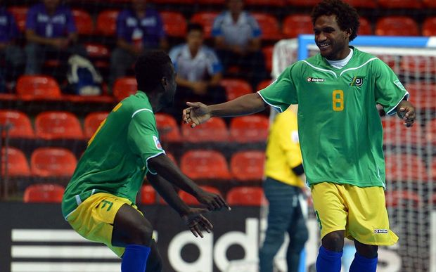 The Kurukuru are three time defending Oceania Futsal Champions.