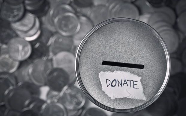 Donation container