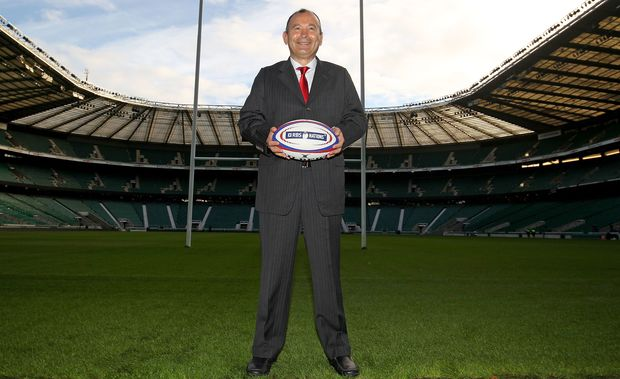 England rugby coach Eddie Jones has named seven newcomers in his squad.