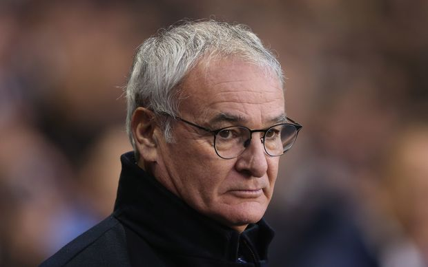 Leicester City manager Claudio Ranieri.