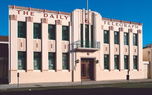The Daily Telegraph building in Napier.
