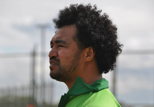 Cook Islands Under 17 women's football coach, Tuka Tisam.