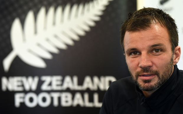 All Whites coach Anthony Hudson.