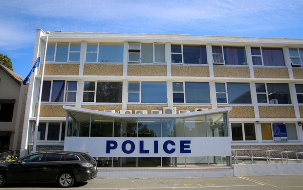 Nelson police station.