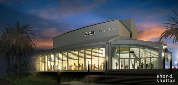 A concept sketch of the new Marlborough ASB Theatre in Blenheim, set to open in March.