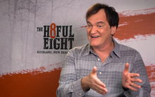 Director of The Hateful Eight, Quentin Tarantino.