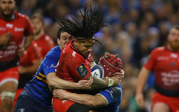 Ma'a Nonu playing for Toulon.
