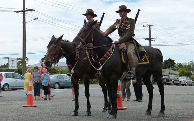 Commemorations for the 100th anniversary of the Featherston Camp.