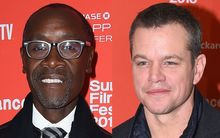 Don Cheadle and Matt Damon