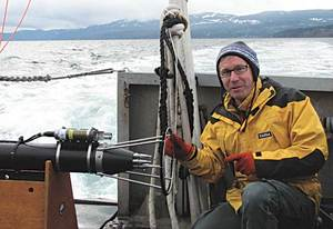 Dr Craig Stevens,  physical oceanographer for NIWA