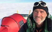 Henry Worsley's unaided solo traverse of Antarctica