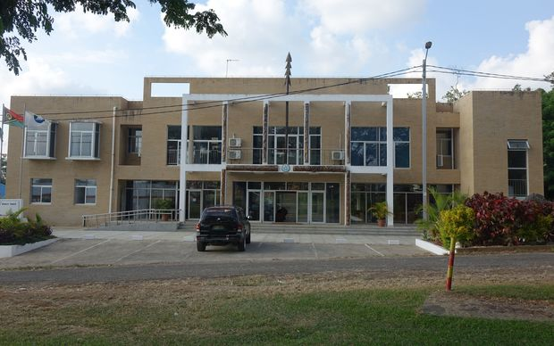 The headquarters for the Melanesian Spearhead Group Secretarian (MSG) in Port Vila, Vanuatu