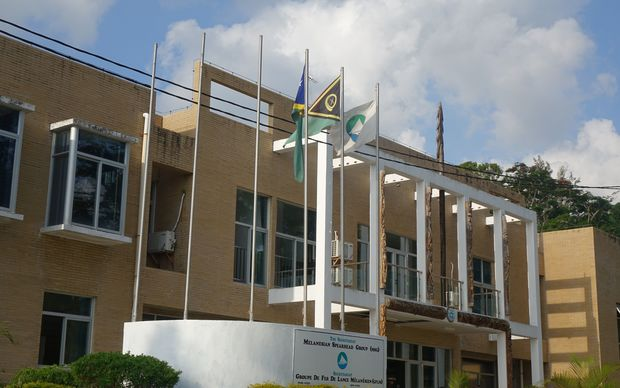 The Melanesian Spearhead Group Secretariat in Port Vila, Vanuatu