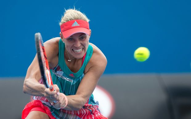 German tennis player Angelique Kerber is through to the final of the 2016 Australian Open.