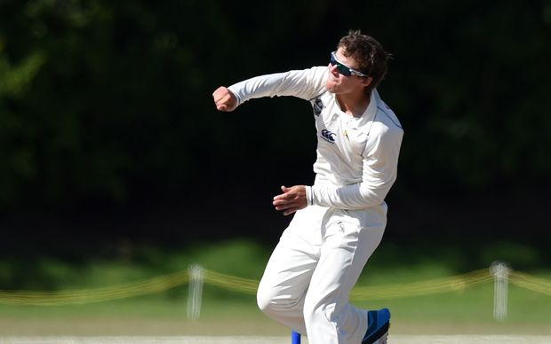 Otago cricketer Josh Finnie.