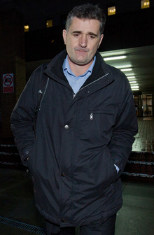 Darrell Read, a former trader at ICAP, leaving Southwark Crown Court in London on 27 January.