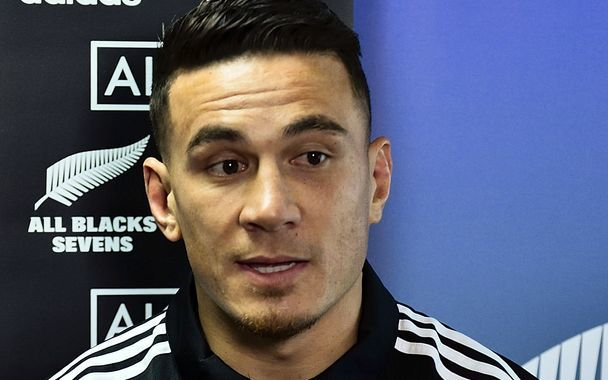 Sonny Bill Williams ahead of his All Blacks Sevens debut