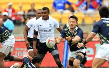 Fiji finished unbeaten on day one of the Wellington Sevens.