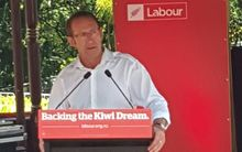 Labour leader Andrew Little delivers his State of the Nation speech.