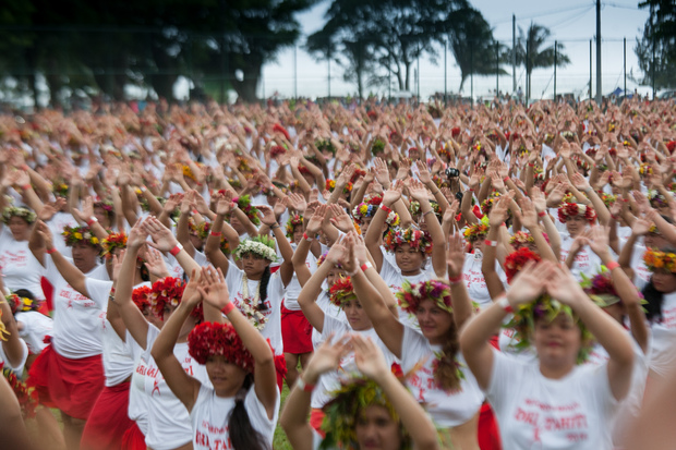 Bid to set dance record set in Tahiti