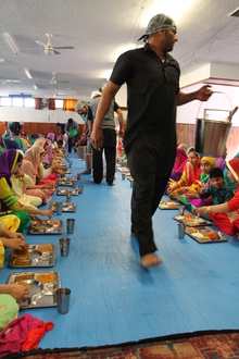 Langar, shared community lunch