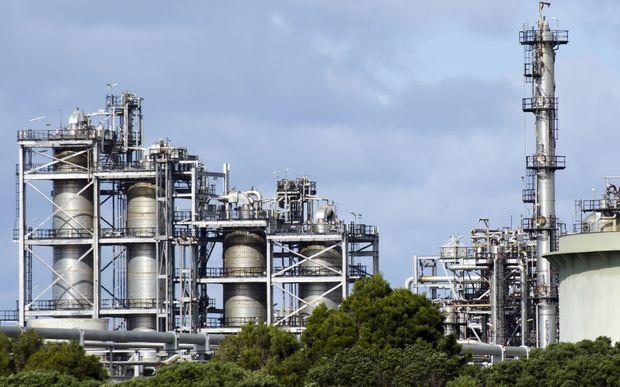 Marsden Point oil refinery