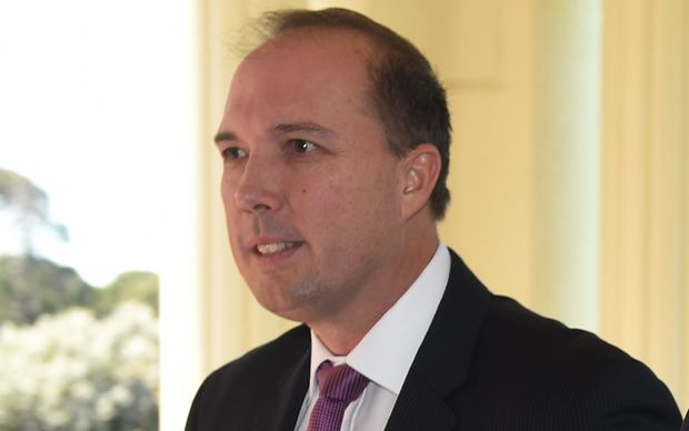 Australian Immigration Minister Peter Dutton