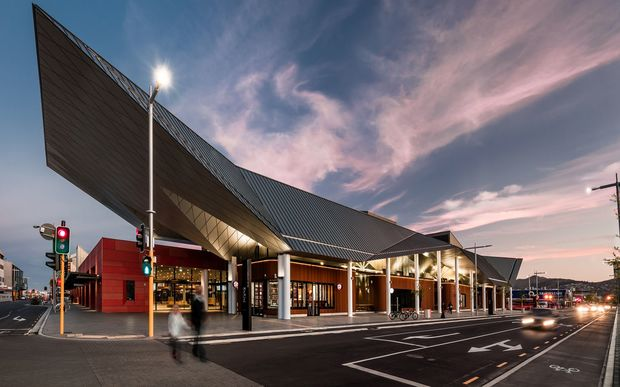 Christchurch's new $53-million bus interchange