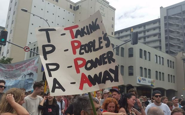 TPP protesters