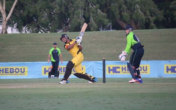PNG take on Ireland in a T20 International in Townsville.