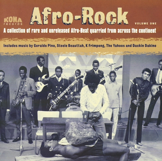 cover of Duncan Brooker's compliation: Afro Rock Vol 1.