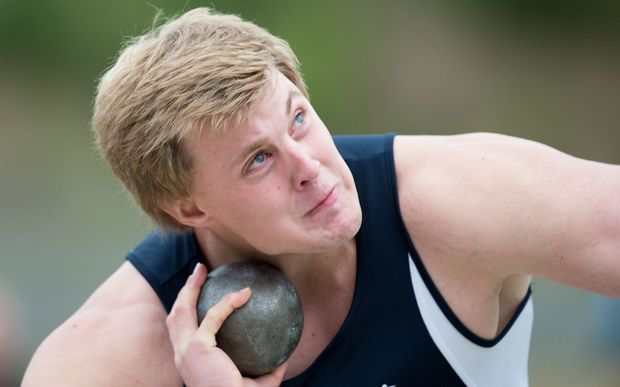 Auckland shot putter Jacko Gill. Photo by Marty Melville/Photosport.co.nz