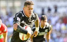 Augustine Pulu in action in Sydney