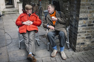 Alan Bennett with Alex Jennings