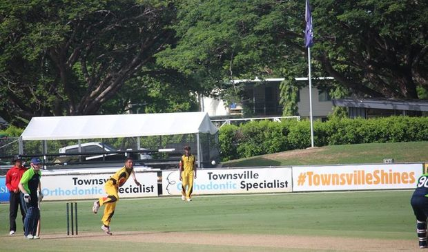 PNG bowl their way to victory against Ireland.