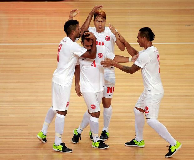 Tahiti won their first match of the OFC Futsal Championship against Fiji.