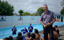 Glen Innes School principal Jono Hendricks says some students are missing out on lessons because they don't have swimming togs.