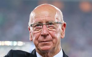 England and Manchester United football legend Sir Bobby Charlton.