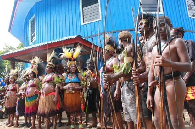 Signs of strong support for Liberation Movement in Papua