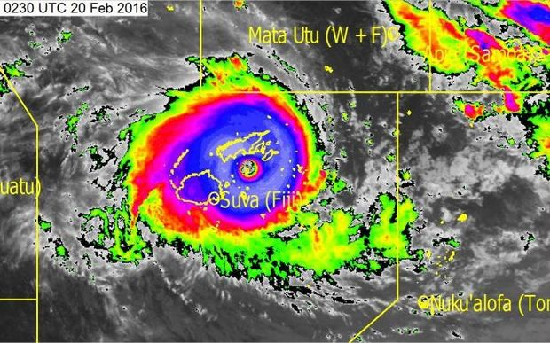 Category 5 Severe Tropical Cyclone Winston