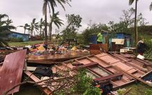The morning after category five Cyclone Winston hit Fiji.