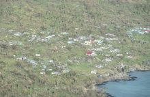 Devastation caused by Cyclone Winston to Fiji's outer islands