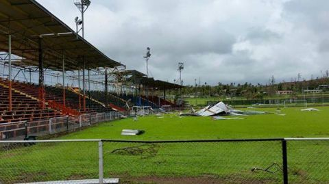 Govind Park in Ba following Cyclone Winston.