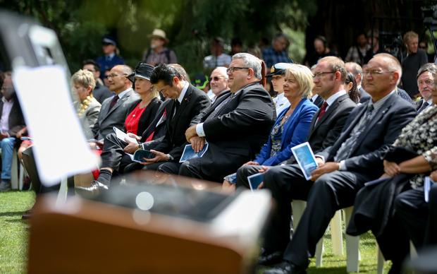 Christchurch quake anniversary.