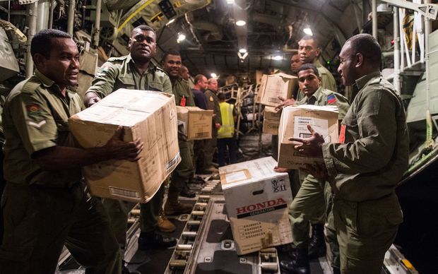 New Zealand aid arrives in Fiji